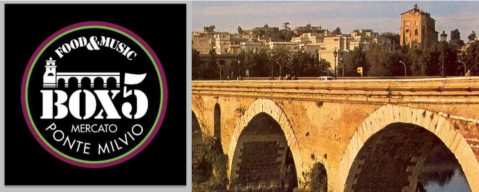 I fratelli costrini raddoppiano a roma inaugurazione box5 for Mercato ponte milvio